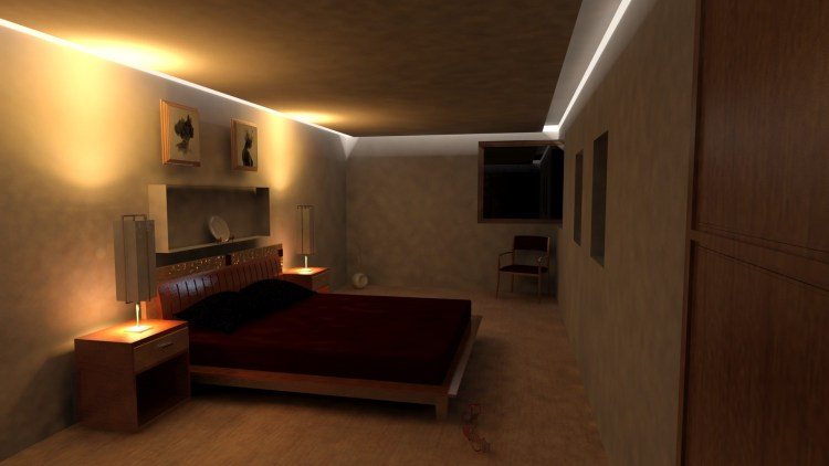 Bedroom visualisation
