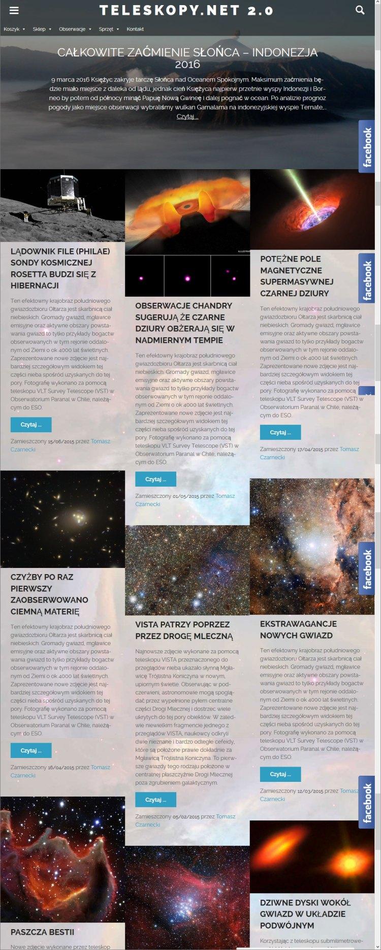 teleskopy.net v2.0
