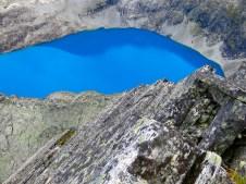 Kanske en av Norges blåaste glaciärsjöar?