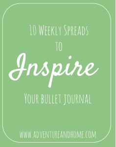 Bullet Journal Inspiration