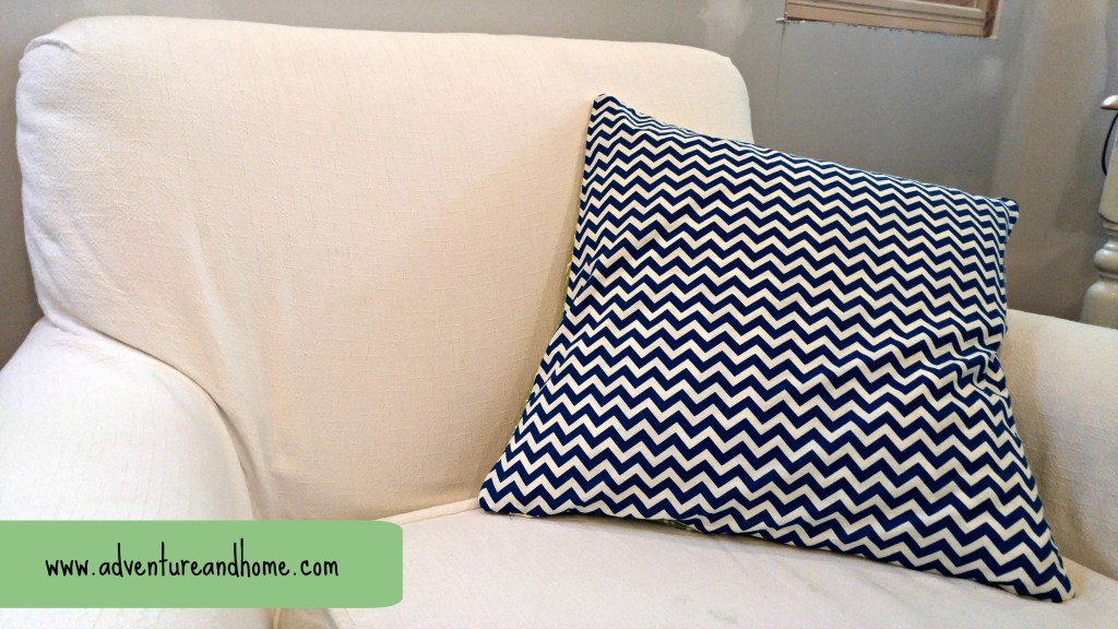DIY Pillow Covers that are easy and fun! A great way to break into sewing projects and perfect for updating the throw pillows you already own!