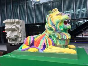 HSBC Building - Stephen the Lion