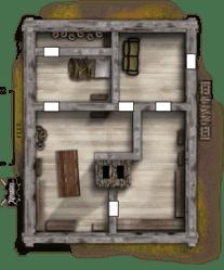 Cottage Cabin Map D&d 1