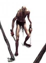 bog troll raider - zombie_ju-ju_creature__vito_rafiie