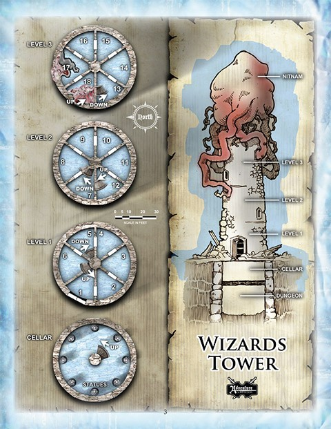 wizard tower map