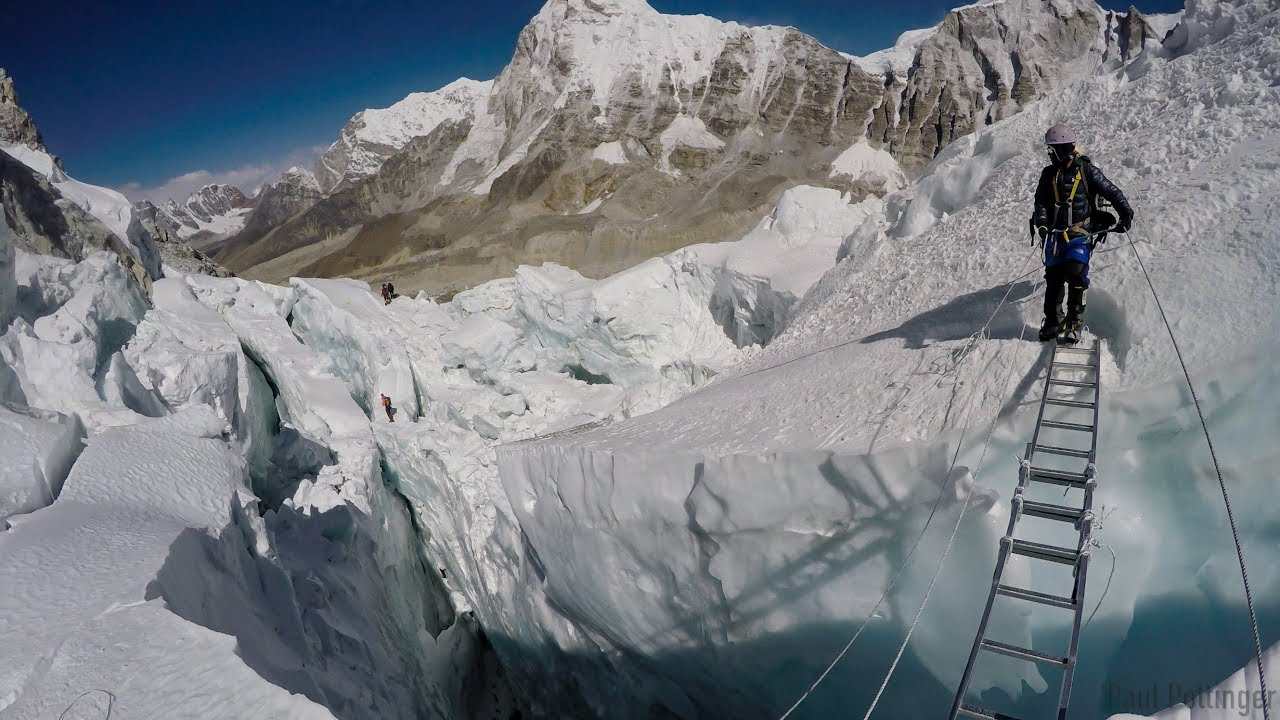 Video: Passing Through the Khumbu Icefall — The Adventure Blog