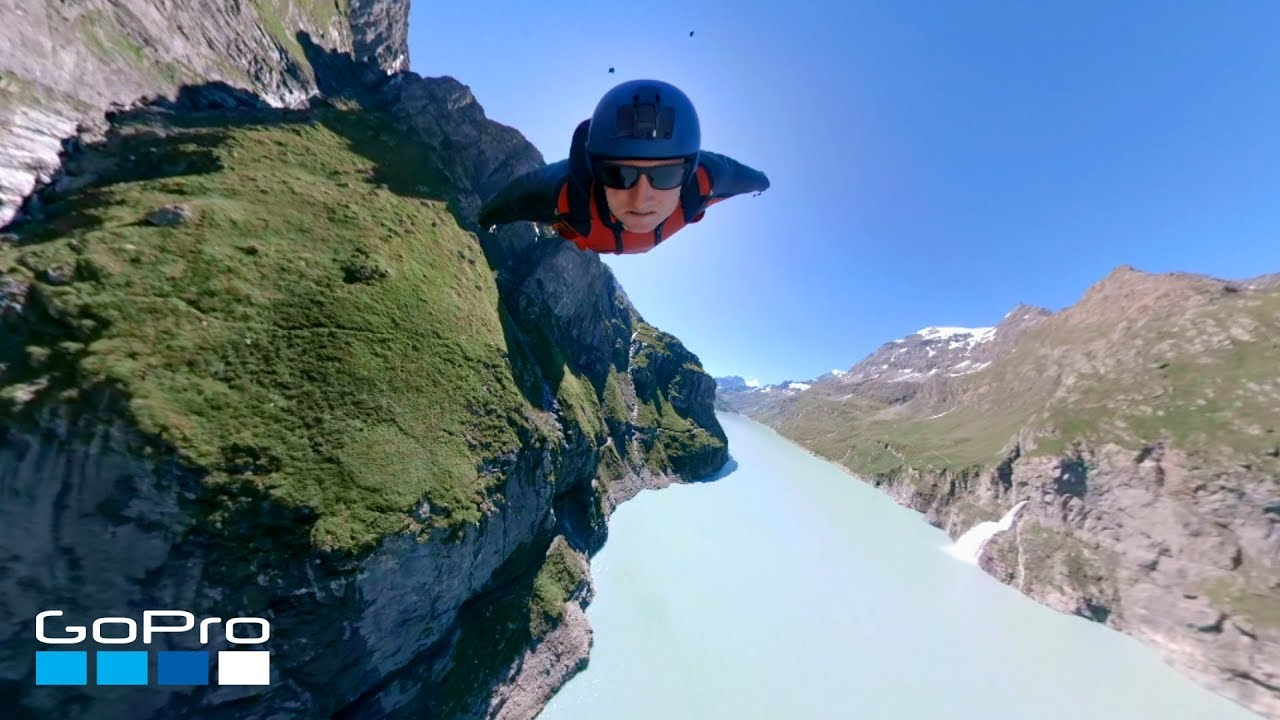 Video: Wingsuiting Over a Dam in the Swiss Alps