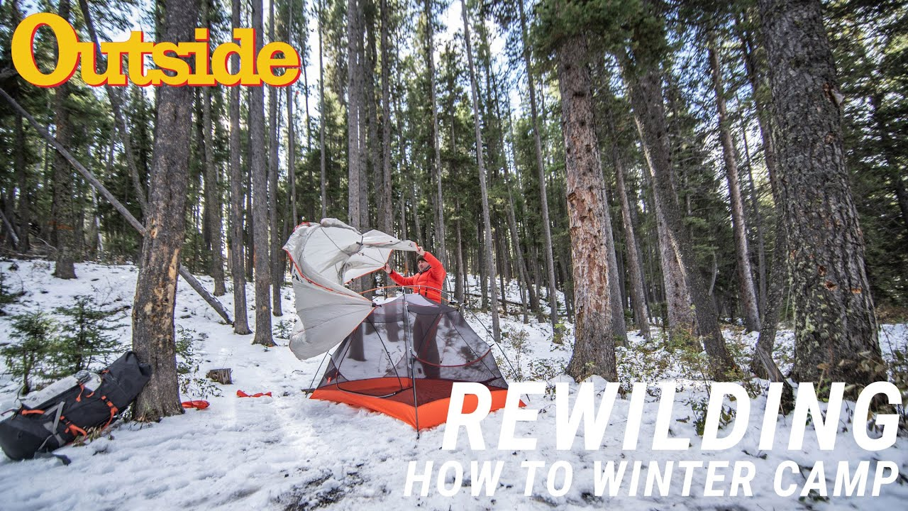 Video: How to Camp int he Winter Without Dying