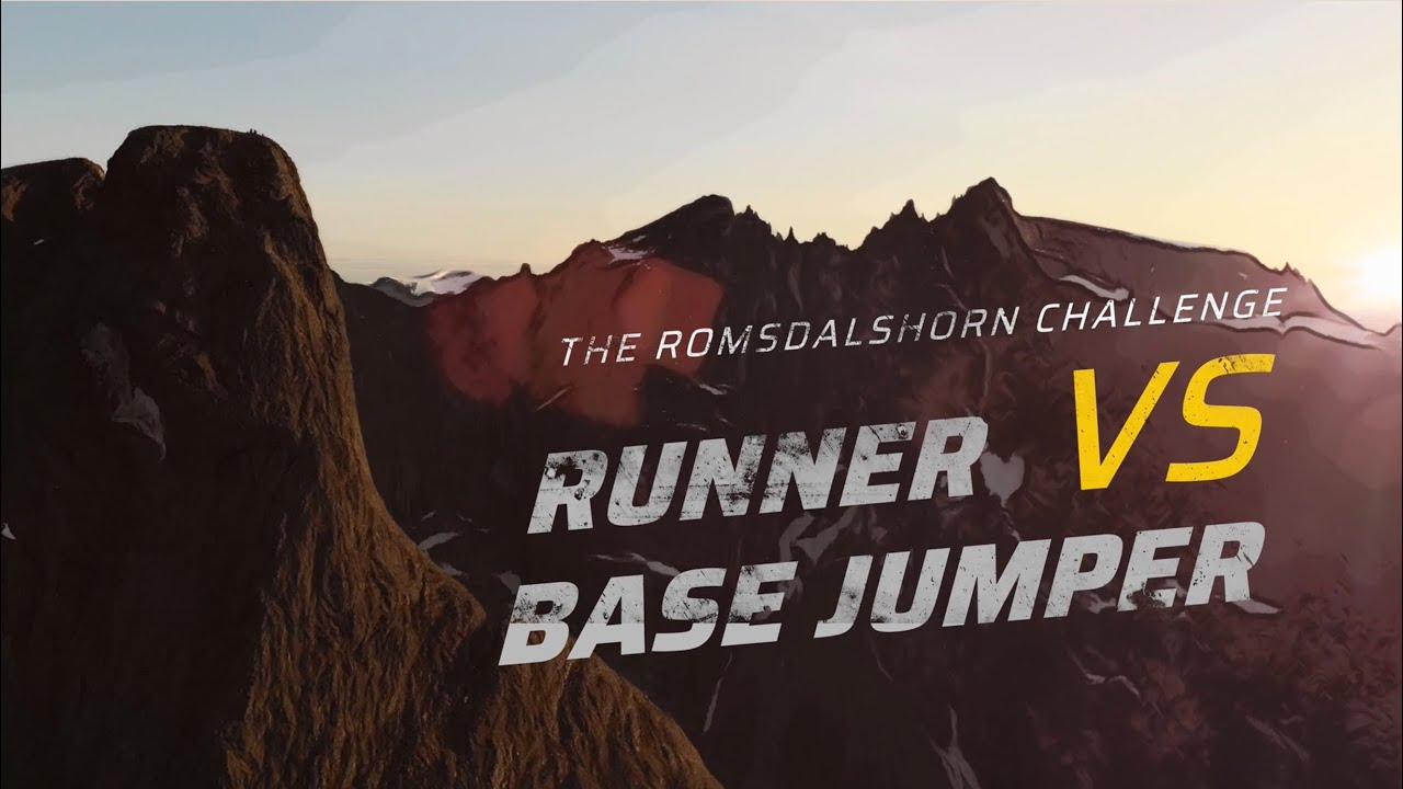 Video: Kilian Jornet Races a Base Jumper Up and Down a Mountain