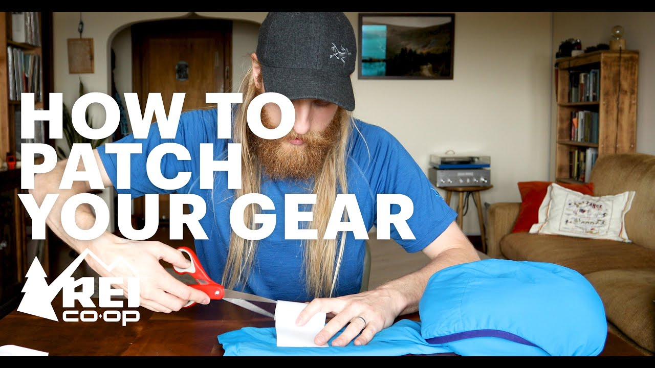 Video: How to Patch and Repair Your Gear — The Adventure Blog