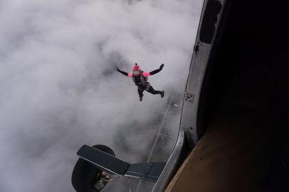 Blundstone skydiving