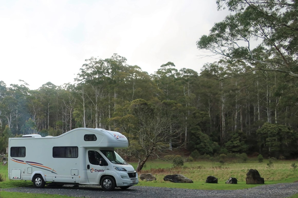 motorhome with kids