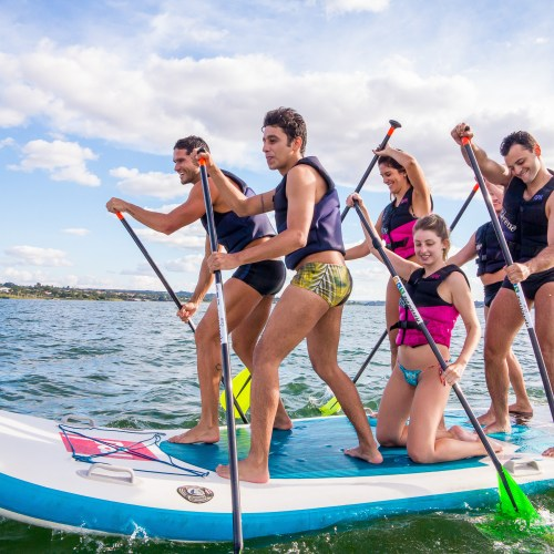 big sup lago adventure club