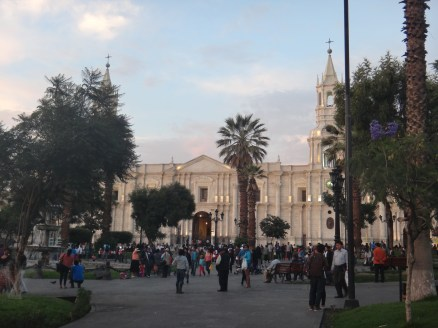 Plaza de Armas-the hub of South American cities!