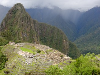 From Machu Picchu moutain