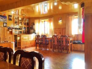 Namche Bazaar Teahouse Dining Room
