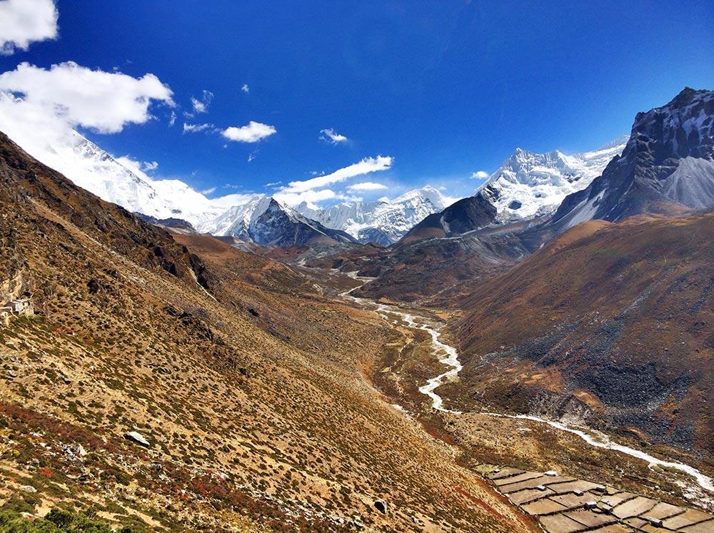 So many peaks above Dingboche