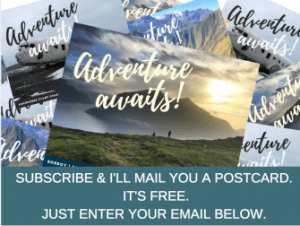 Subscribe and receive a free Adventure Cravers postcard in the mail.