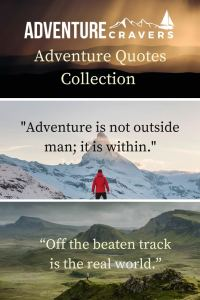 Inspiring Adventure Quote Collection