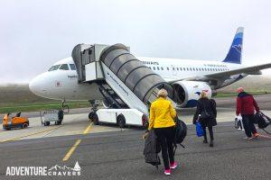 Atlantic Airways Flight Faroe Islands to Iceland