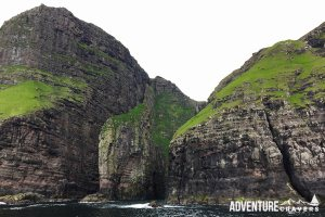 Elephant rock in the Faroe Islands
