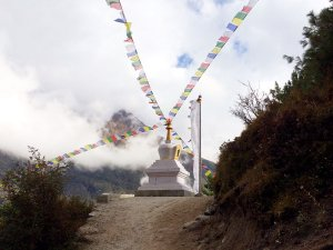 Stupa and Prayer Flags along the Everest Base Camp Trek - Final Thoughts