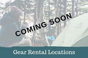 Adventure Travel Gear Rental Locations Coming Soon