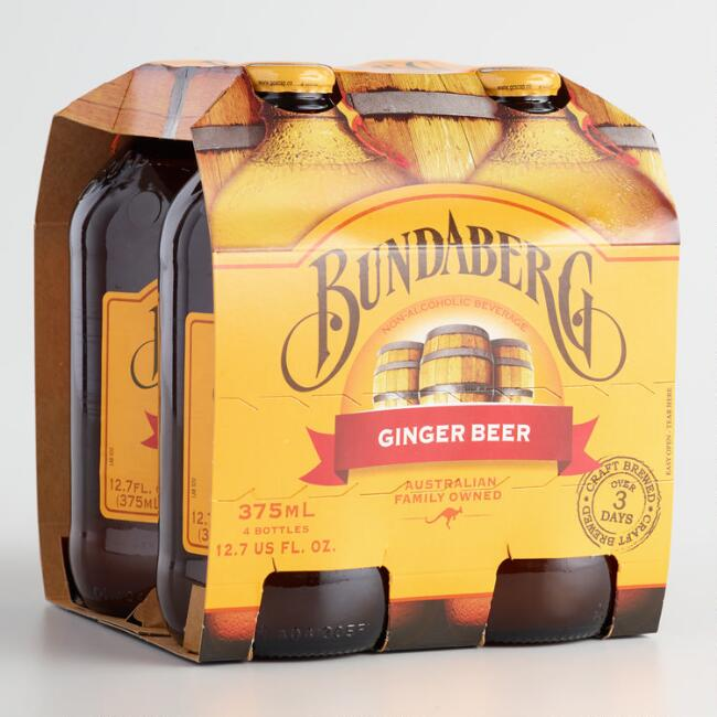 Australian-made Bundaberg Ginger Beer - non-alcoholic