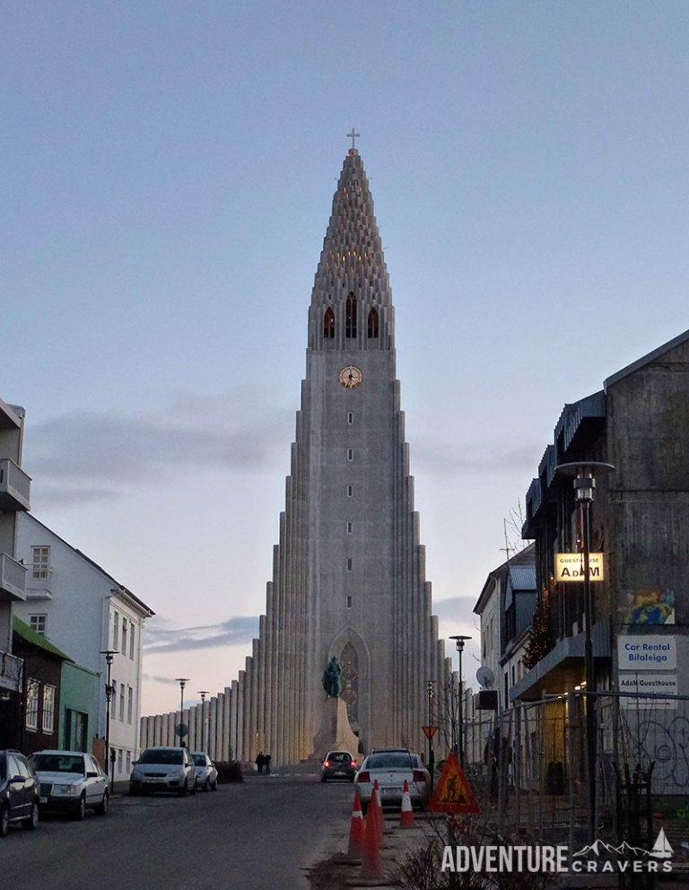 Reykjavik Church in Iceland