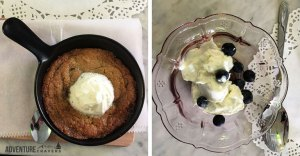 Icelandic Skyr and Homemade Chocolate Chip Cookie