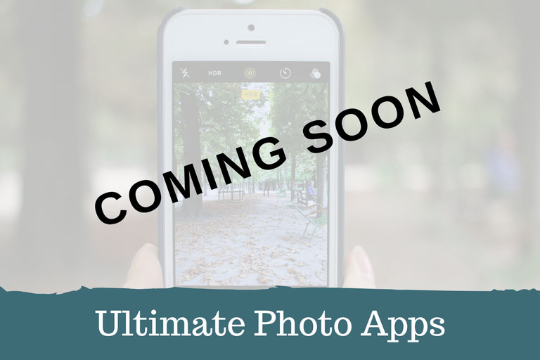 Recommended Photography Apps Coming Soon