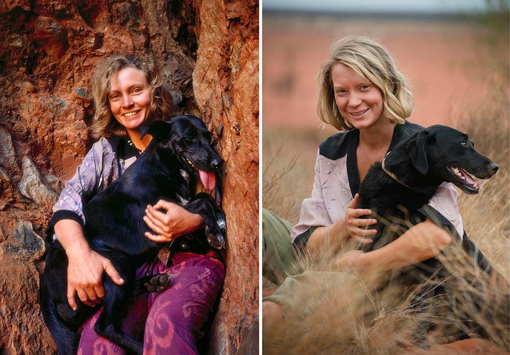 Robyn Davidson and Mia Wasikowska - Tracks Movie
