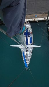 View from the top of the Mast - I Sail