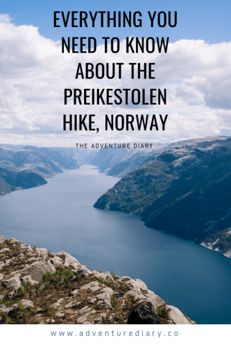 Preikestolen Hike Norway