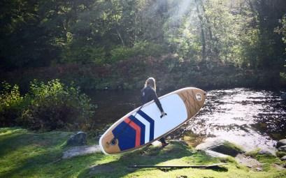 Paddle Boarding on Dartmoor