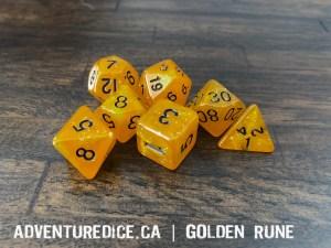 Golden Rune Dice
