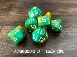 Lemon Lime Dice