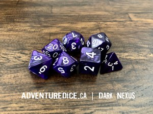 Dark Nexus Dice