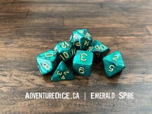 Emerald Spire Dice