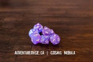 Cosmic Nebula Dice