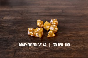 Golden Idol Dice