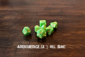 Hill Giant Dice