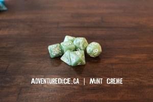 Mint Creme Dice