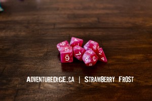 Strawberry Frost Dice