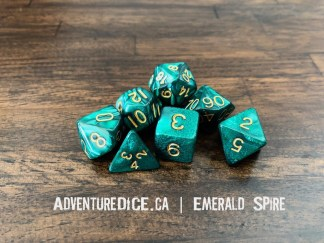 Emerald Spire RPG dice