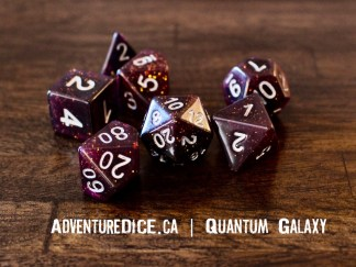 Quantum Galaxy RPG dice