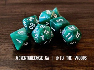 Into the Woods RPG dice