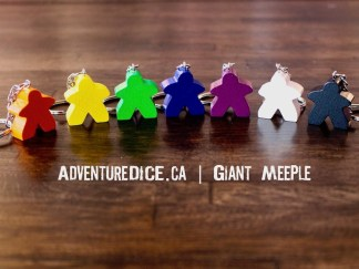 Giant Meeple keychain