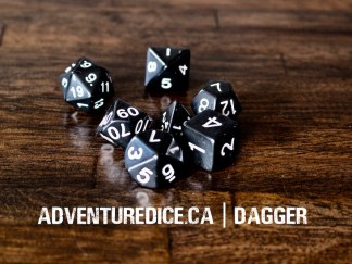 Dagger dice set