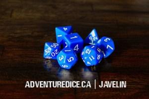 Javelin dice set